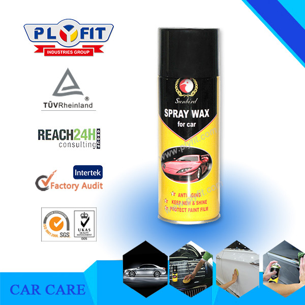 Car Care Car Polish Aerosol Spray Wax
