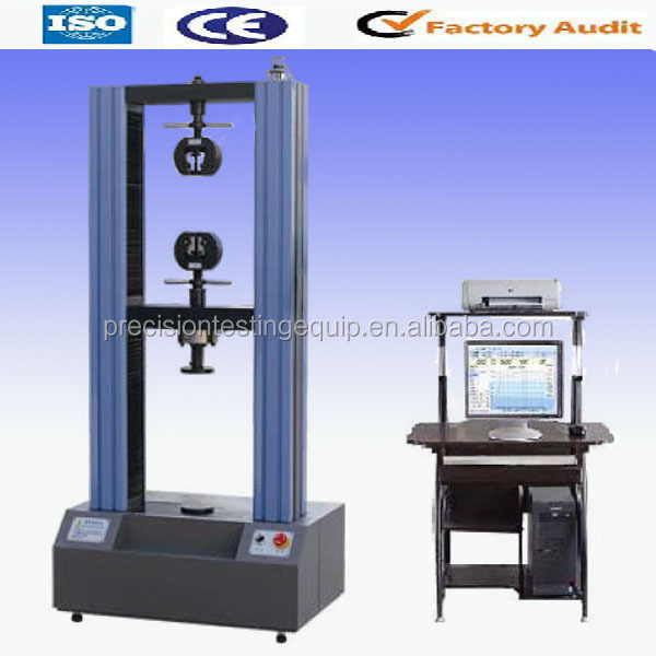 WDW-100 TECO Servo Motor Load Cell 100kn UTM Tension Testing Machine