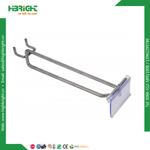 single prong pegboard hook with price tag