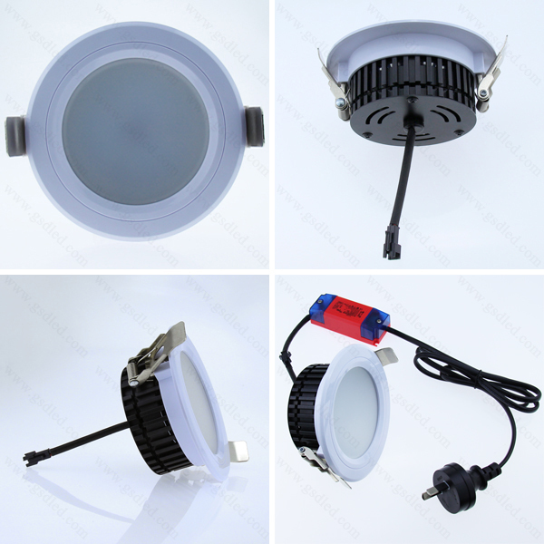 Popular on the market GU10 5W light cup square led downlight