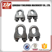 din741 malleable wire rope clip rigging hardware wire rope clip locking cable clip