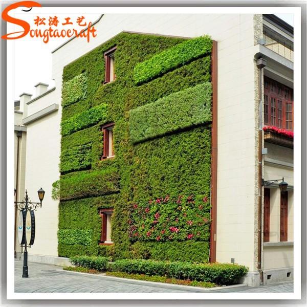 China fabriek aangepaste ontwerp muur opknoping kunstmatige mos gras planten voor de tuin - Ontwerp tuin decoratie ...