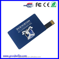 Bulk sale the cheapest promotional gift Credit Card USB Flash Drive