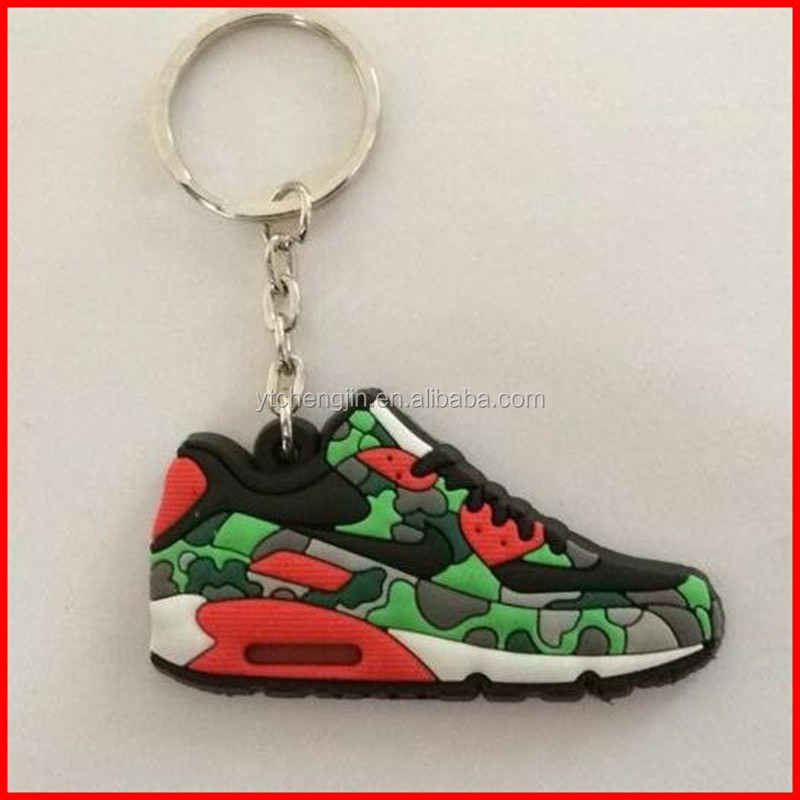 High rubber quality new air max shoe keyring for sale