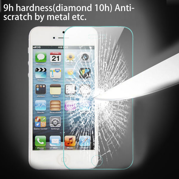 Super Thin & High Transparency Mobile Phone anti shock anti blue light screen protector for iphone5/5c/5s