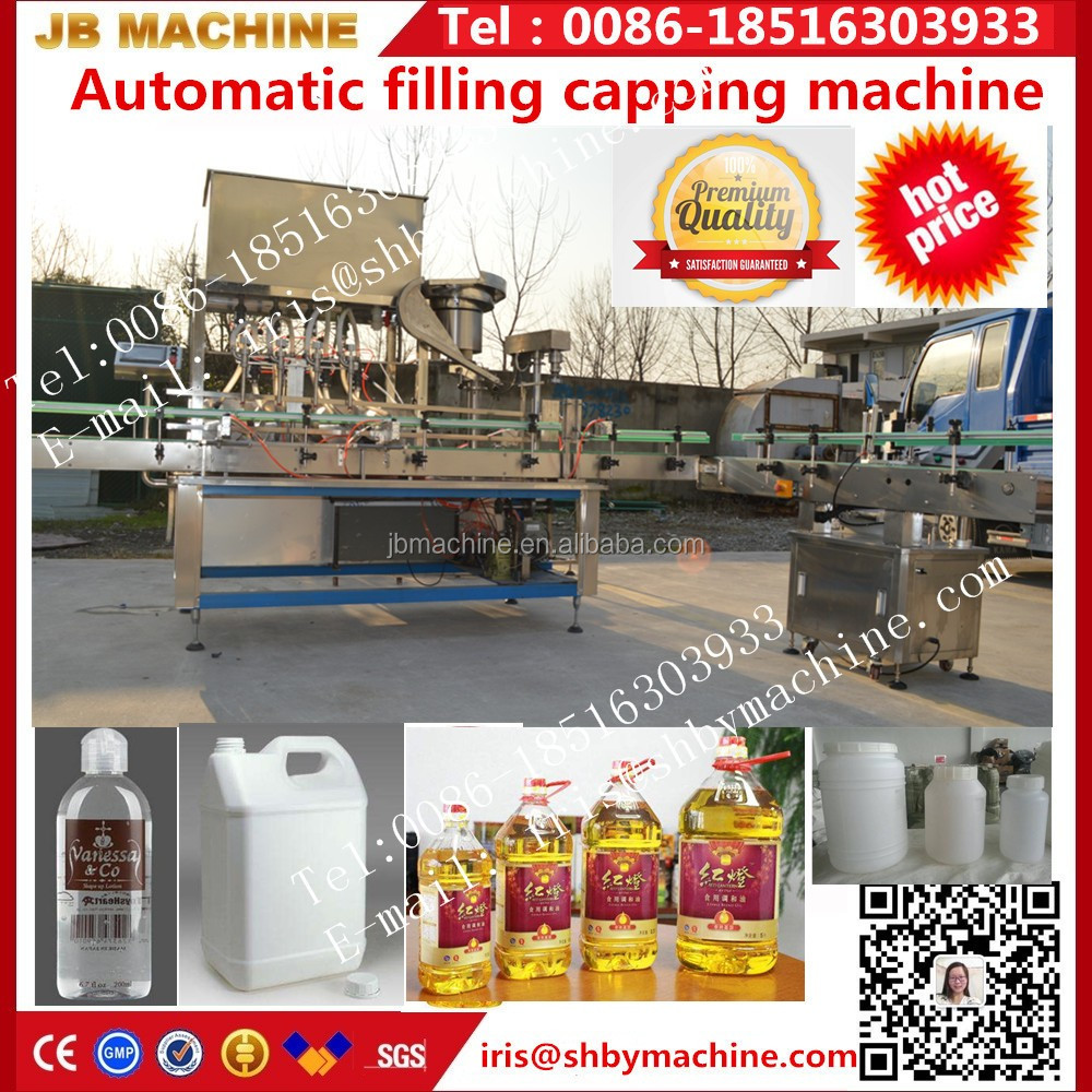 Automatic Hair Growth Oil Bottle Filling Machine / Hair Growth Oil Filling Equipment