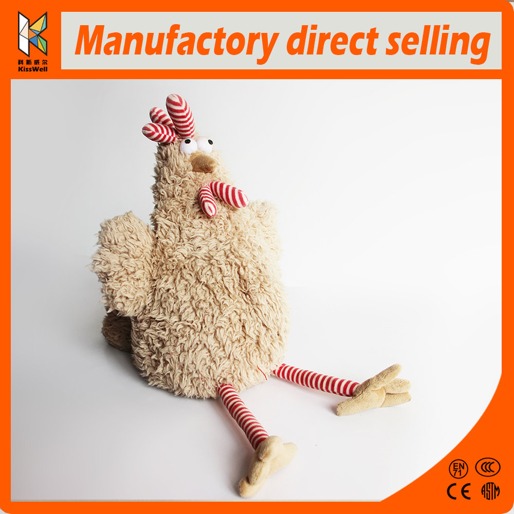 Wholesale stuffed soft plush animal chicken toy