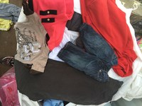 used unshorted clothes from UK
