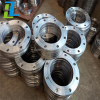investment casting precision casting stainless steel galvanized steel flanges