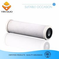 chlorine activated carbon block water filter cartridge with great price