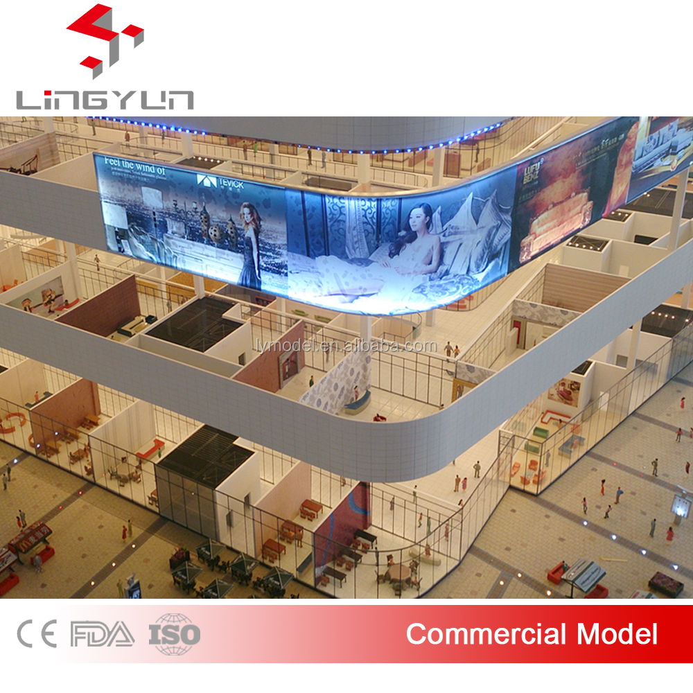 Beautiful commercial advertising scale models for property developer