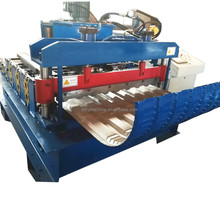 Roofing Sheet Panel Curving Crimping Forming Machine