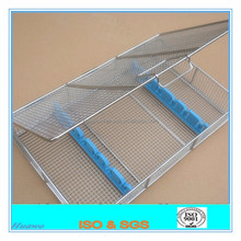 Stainless Steel Basket Sterilization / Wire Egg Basket / Medical Basket