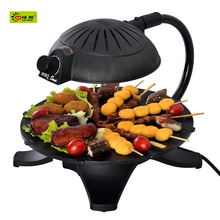 2016 smokeless infrared electrical bbq grill motor and rotating bbq grill from china