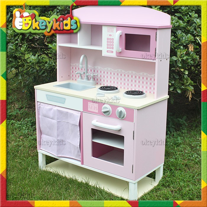2016 wholesale baby wooden toy kitchen sets popular kids for Cheap childrens kitchen sets