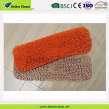 Replacement chenille surface floor clean microfiber cloth mop pad