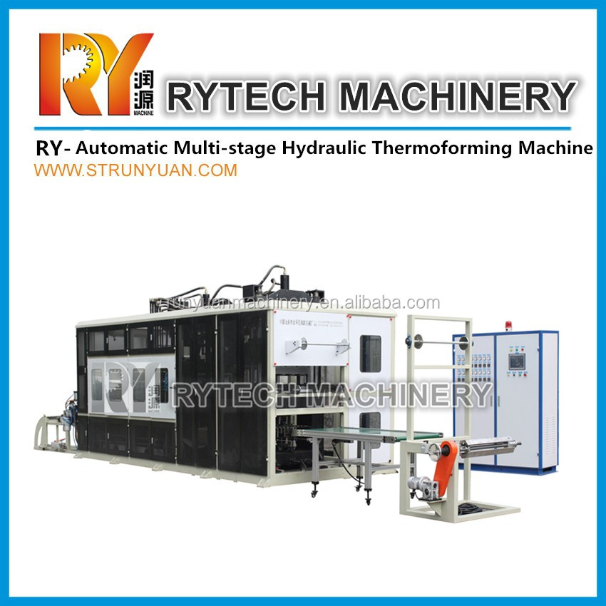 Multi-stage Plastic Flower Pot Making Machine Thermoforming Machinery Machine in Shantou