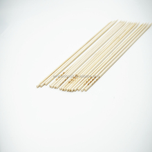 Eco-friendly natural color fruit bamboo sticks