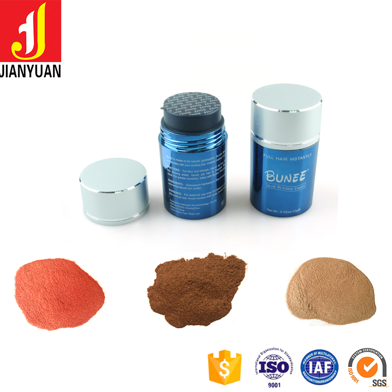 China best hair building fibers of hair growth products for hair restoration