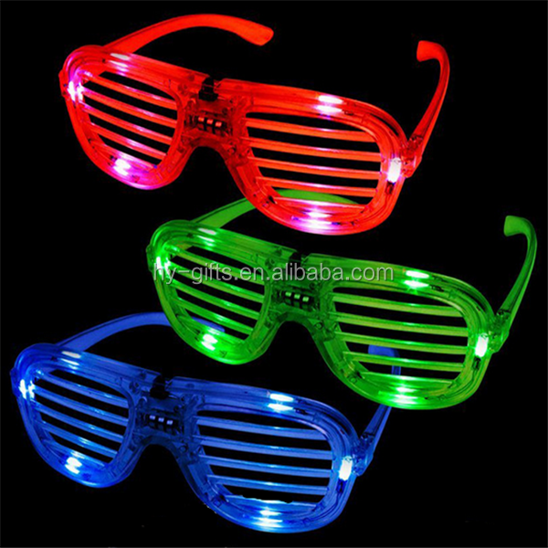 party led sunglasses party favor sunglasses window led glasses