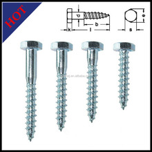 China manufacturer high quality hex head self drilling screw with rubber washer