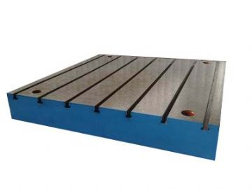Steel Welding T-Slotted Table Cast iron Layout Plate T-Slot Weld