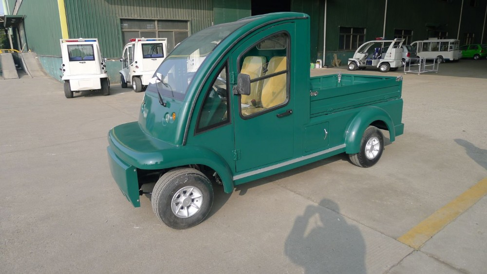 electric Utility car, electric, with hydraulic lifted cargo bed, EG6020XT