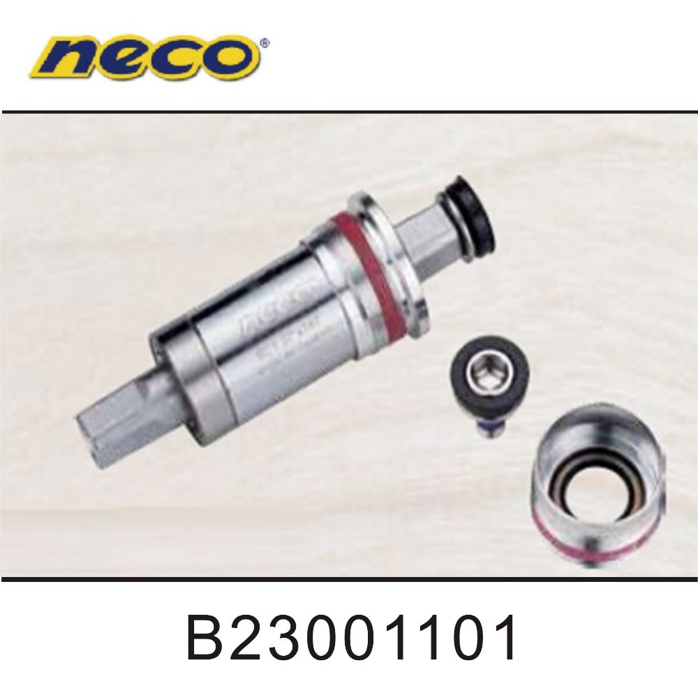 Neco Alloy Cups Trekking Bicycle BB Sets