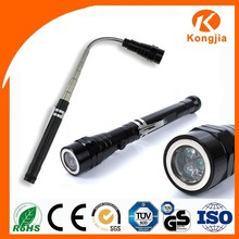 As Seen On TV 3LED Bulb Aluminium Flexible Ultra Bright Tool Led Torch Flashlight Magnet