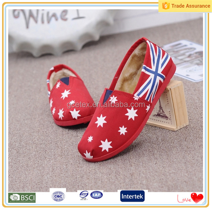 Canvas material for making craft india factory shoes