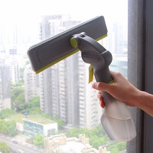 Mr.SIGA Multifunctional Spray Window Cleaner With Microfiber Washer