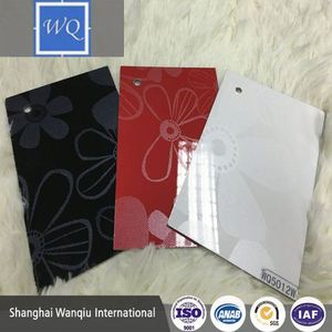 18mm mdf board customize color anti-acid embossment aluminum uv mdf for wall panel