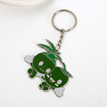 Promotional gifts metal Elves key chain ring for wholesale