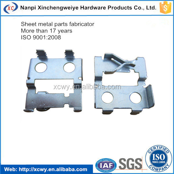 Precision stamping metal sheet components and parts for auto battery terminal