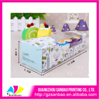 Beautiful clear mini cupcake PVC plastic packaging boxes