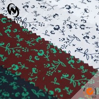 Mens shirt cotton print fabric