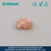 AcoSound AcoMate 821 ITC Programmable Hearing Instruments New Products