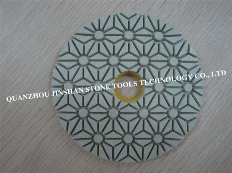 3-Step Diamond Polishing Pads for Granite