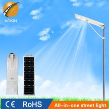 NOKIN high quality high brightness intergrated solar street light