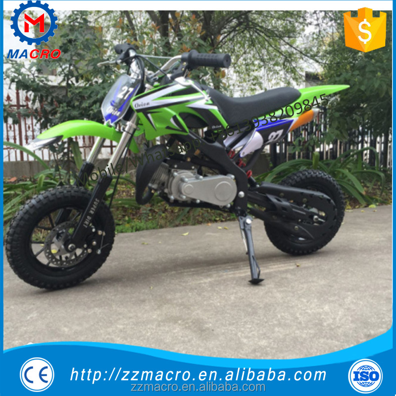 new design automatic motorcycle 50cc litter dirt bike