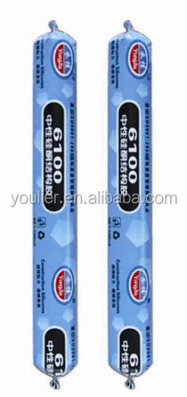 Transparent Neutral Silicone Weatherproof Sealant YLE-500
