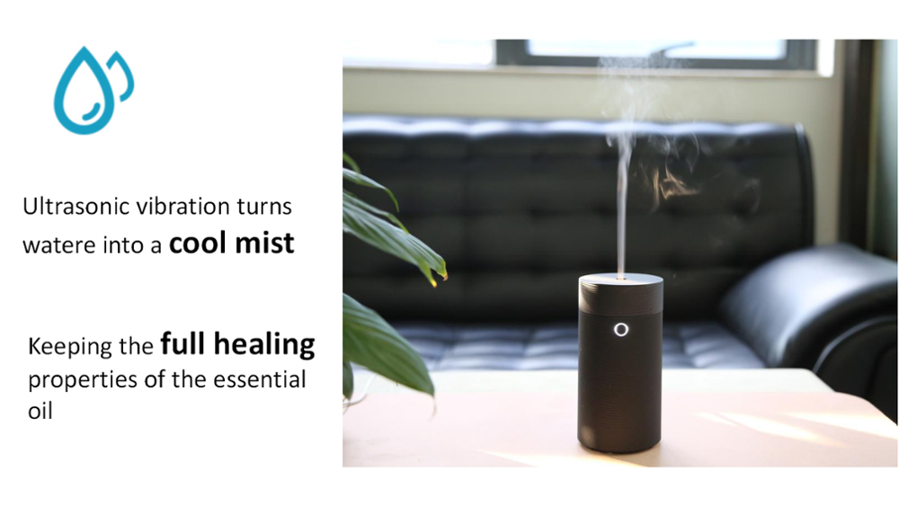 Perfume air humidifier aromatherapy essential oil car aroma diffuser