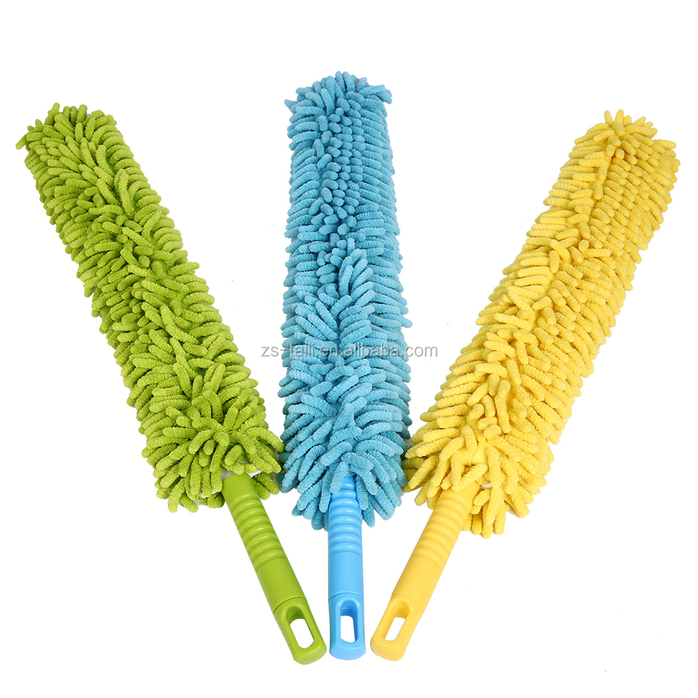 magic cleaning microfiber flexible household or car duster colorful