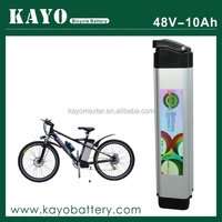 KAYO maxtar E-bike battery 48V 10Ah,lipo battery for electric car,battery pack for electric vehicle