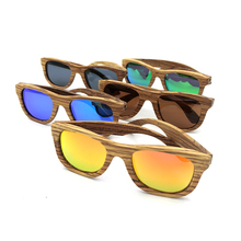 Unisex Handmade Frame Bamboo Sunglasses Men Wooden Sun glasses for Women Porized