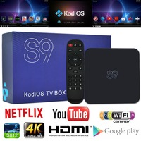 Top Box OTT TV Box Google Android 5.1 Smart TV Box 2GB RAM 16GB Emmc Dual Wifi Bluetooth 4.0 Amlogic S812 Full Hd Media Player