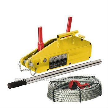 2016 NEW JHSS Series mini pulling wire rope hand winch wire rope hoist