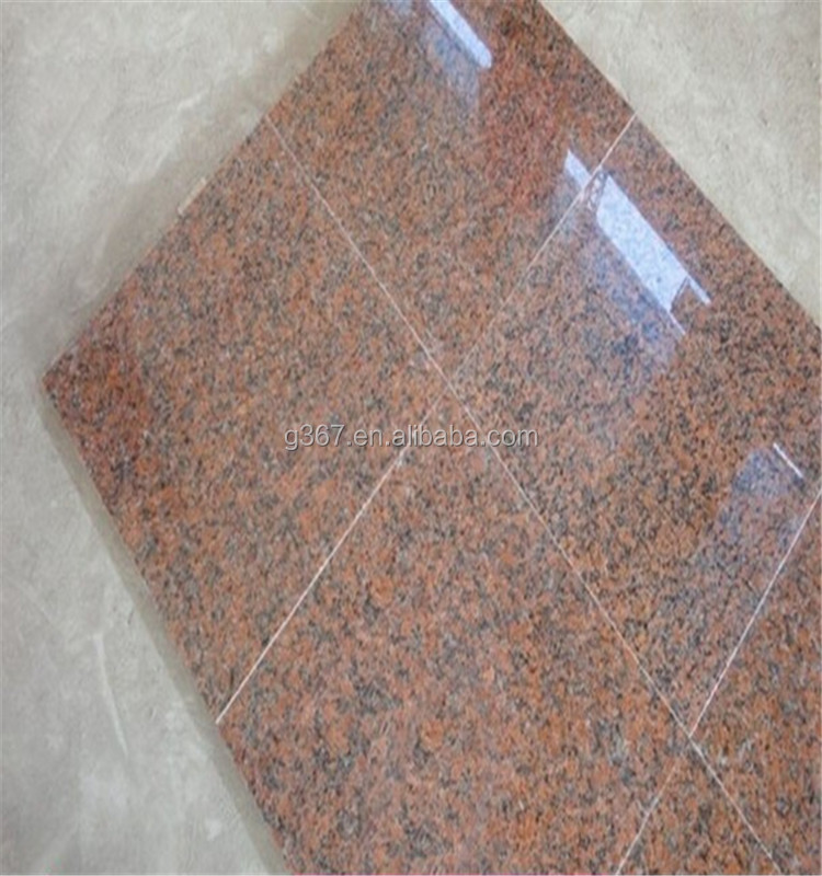 High Quality maple red Granite Big Slabs Cut to Size and big size granite slab