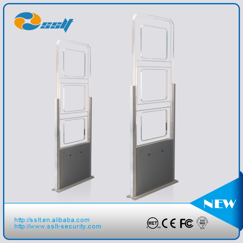 Library management rfid gate reader, wireless rfid reader, uhf rfid gate for access control system