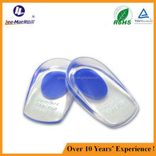 2015 popular silicone foot protect insoles for high heel shoe